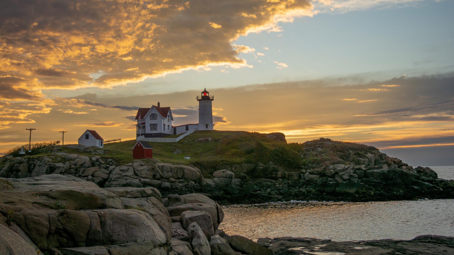 Nubble Light Maine Lighthouse