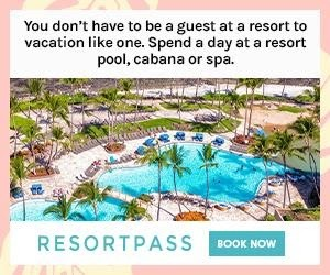Get pool, spa, and amenity access at luxurious hotels