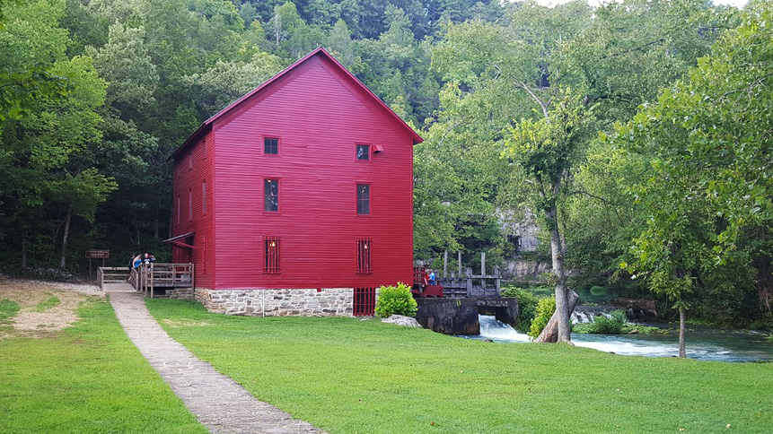 Missouri Famous Mill and Spring