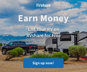 Earn Money - List Your RV