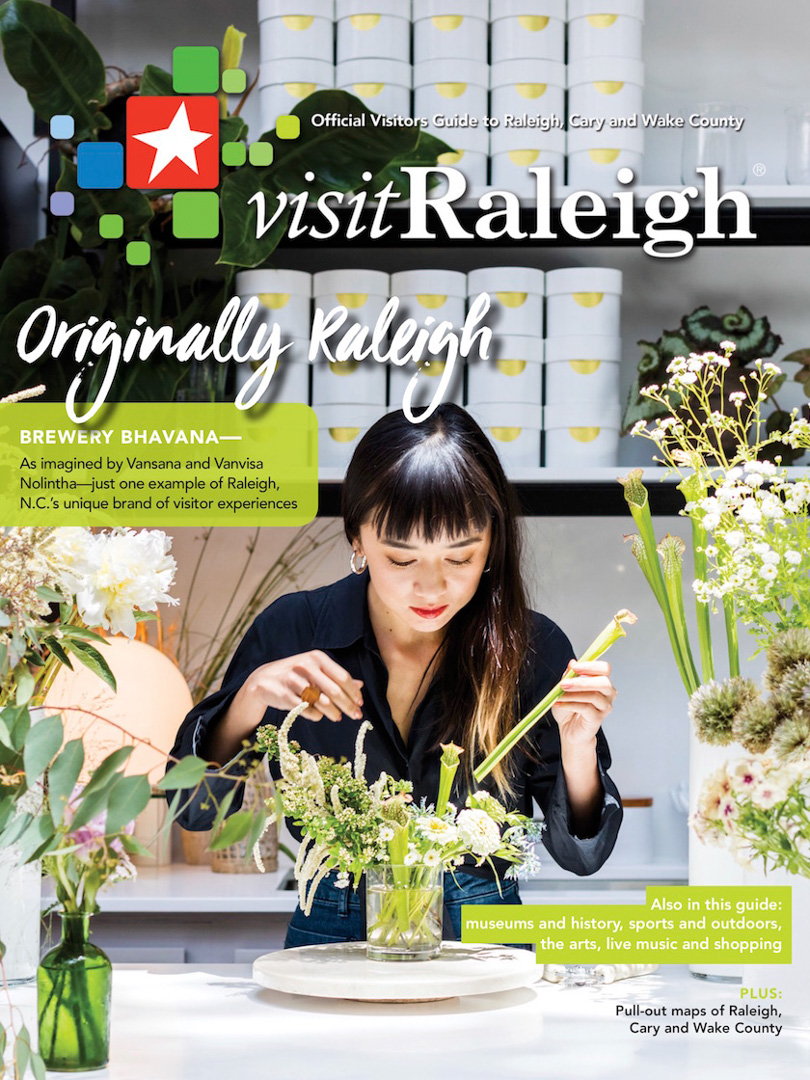 Official Visitors Guide, Raleigh. North Carolina
