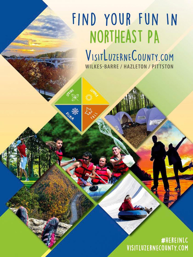 Visit Luzerne County Visitors Guide, NorthEastern, PA