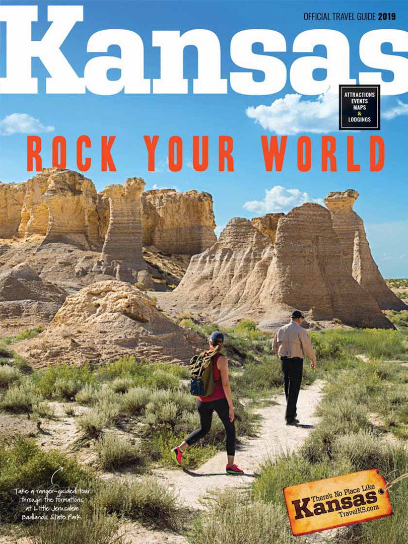 Travel Kansas Visitors Guide
