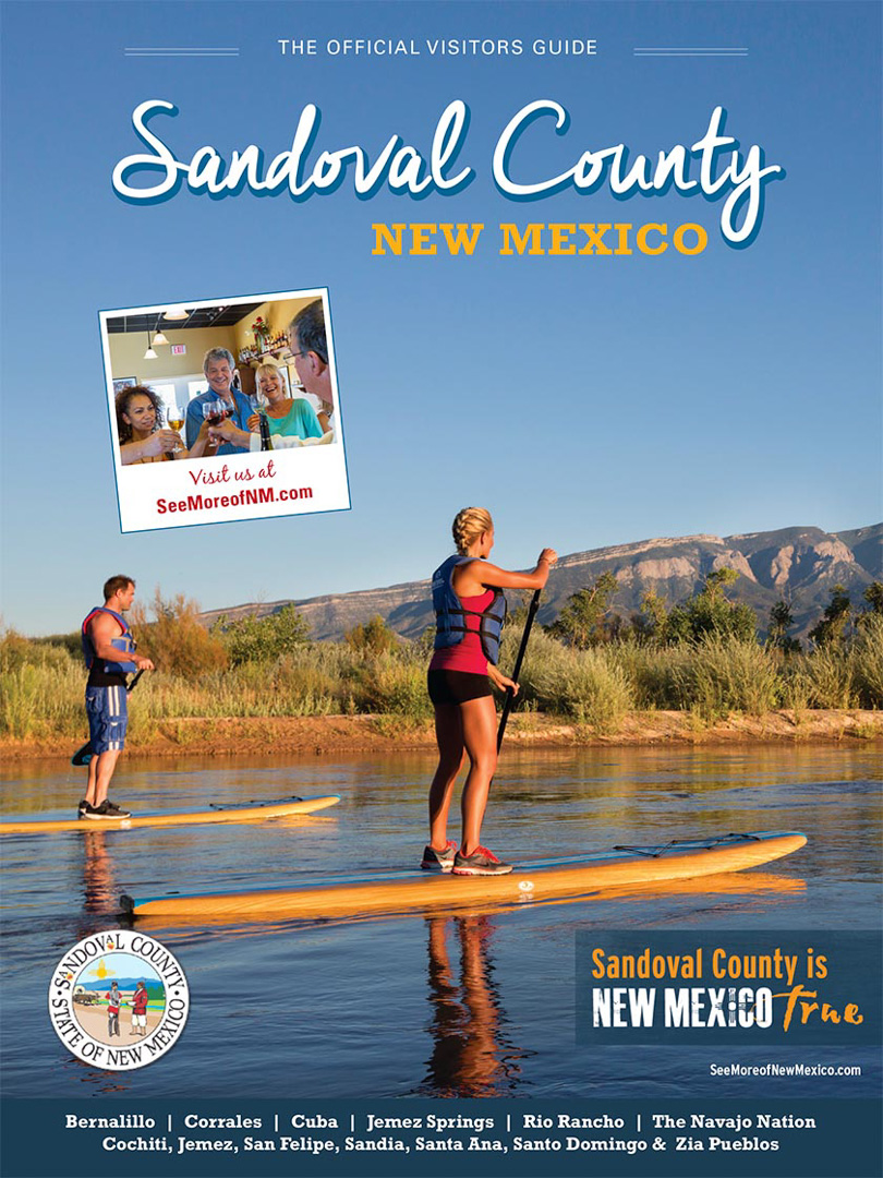 Sandoval County Visitors Guide, New Mexico
