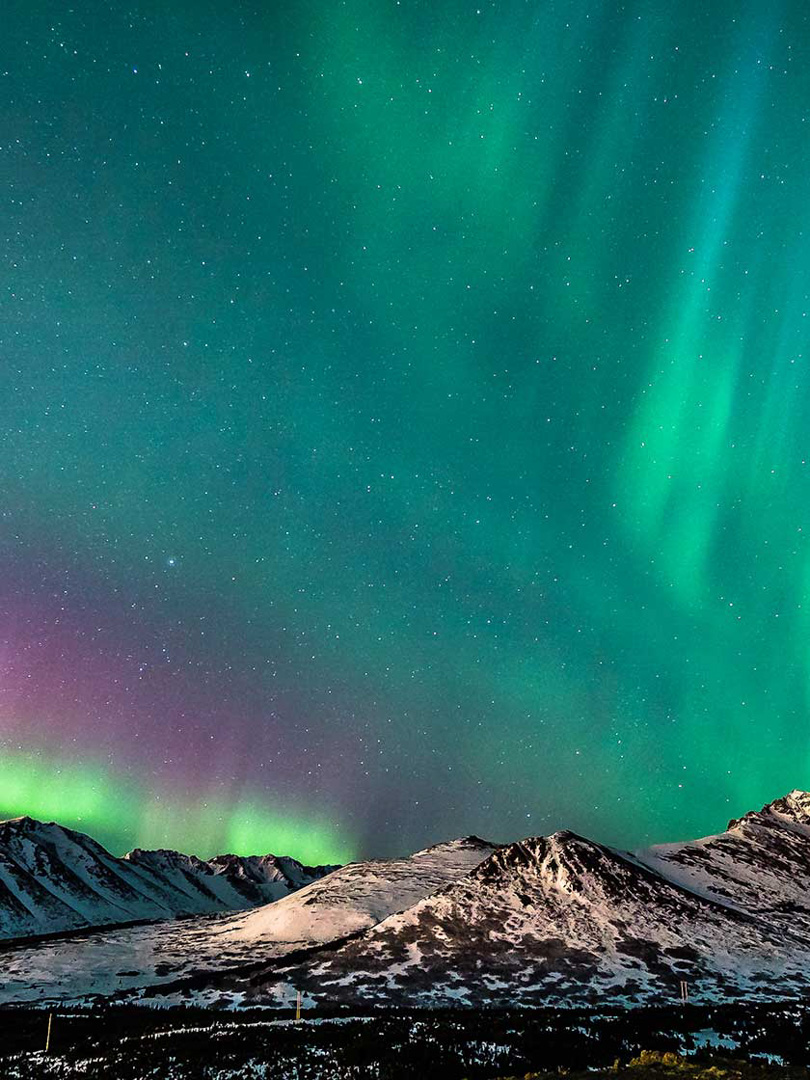 Northern Lights, Anchorage, AK