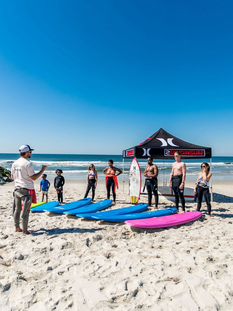 Discover Long Island Beaches- Learn PaddleBoarding Beach