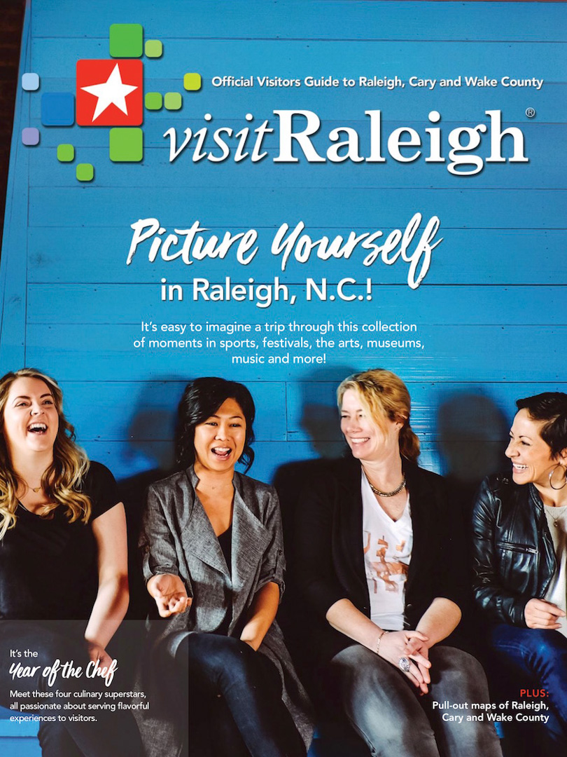 Official Visitors Guide, Raleigh, North Carolina