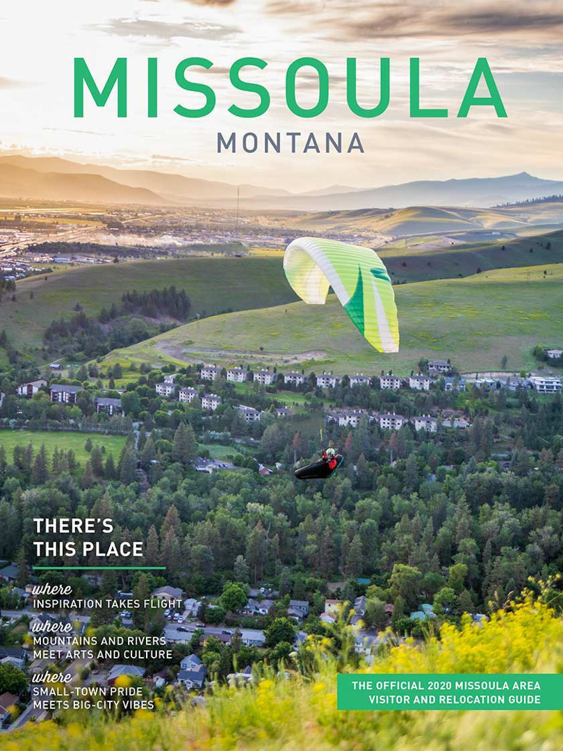 The Official 2020 Missoula Area Visitor & Recreation Guide, Montana