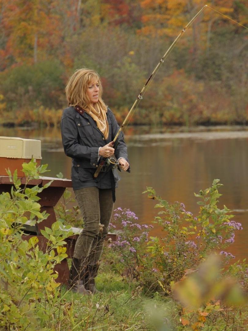 Fall Fishing On Lake Alice, West Chazy, New York