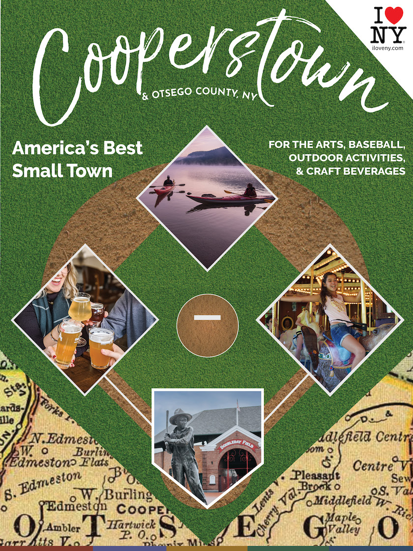 This is Cooperstown Visitors Guide, Cooperstown, NY