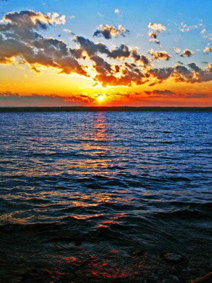 Seneca Lake Sunset, Seneca County, NY