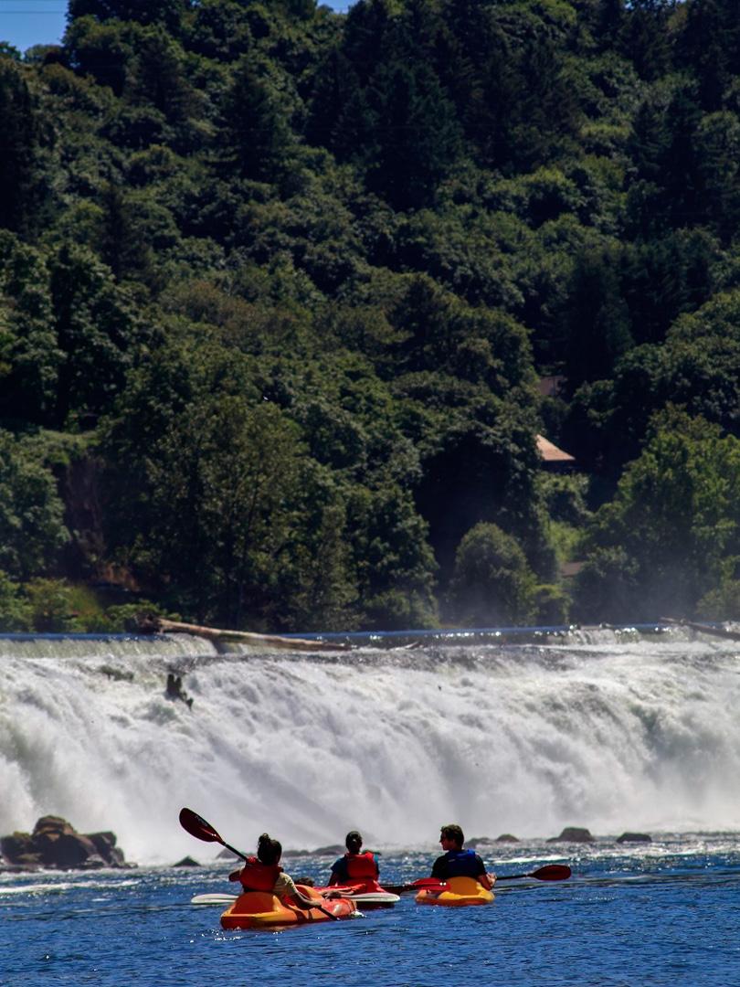 Willamette Falls, Clackamas County, OR