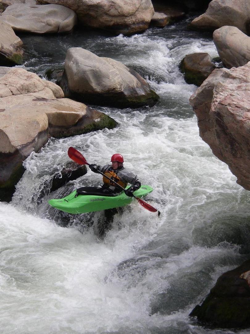 Kayaking, Cody/Yellowstone, WY