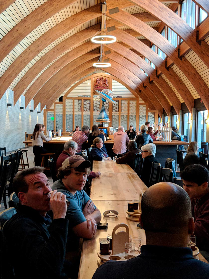 Red Oak Lager Haus & Biergarten, Greensboro, NC