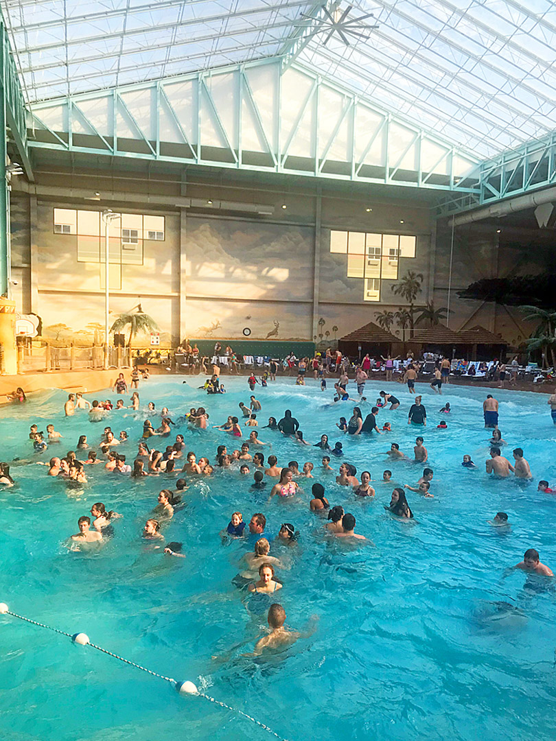 Kalahari Wave Pool, Sandusky, Ohio