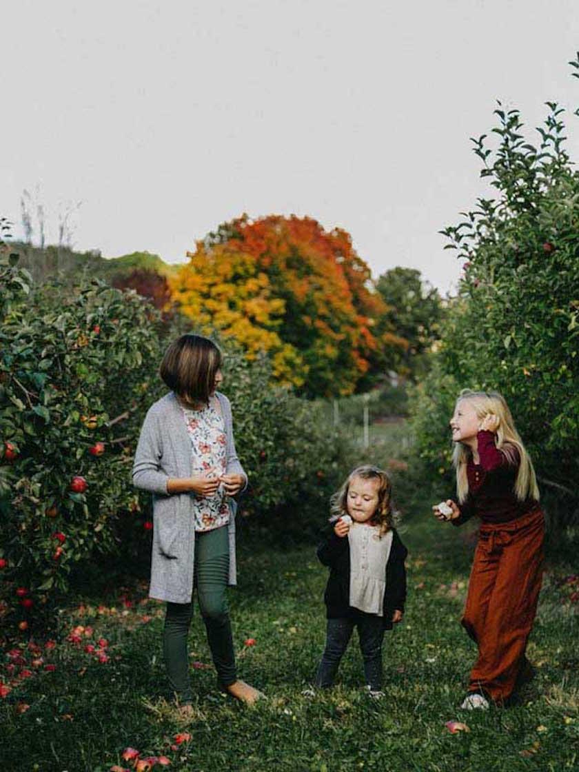 Terrance Mountain Apple Orchard, Schoharie, NY