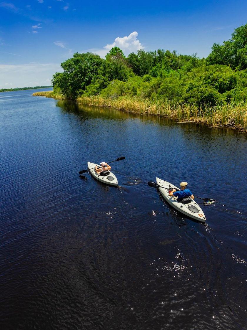 Kayaking, Gulf Shores, AL