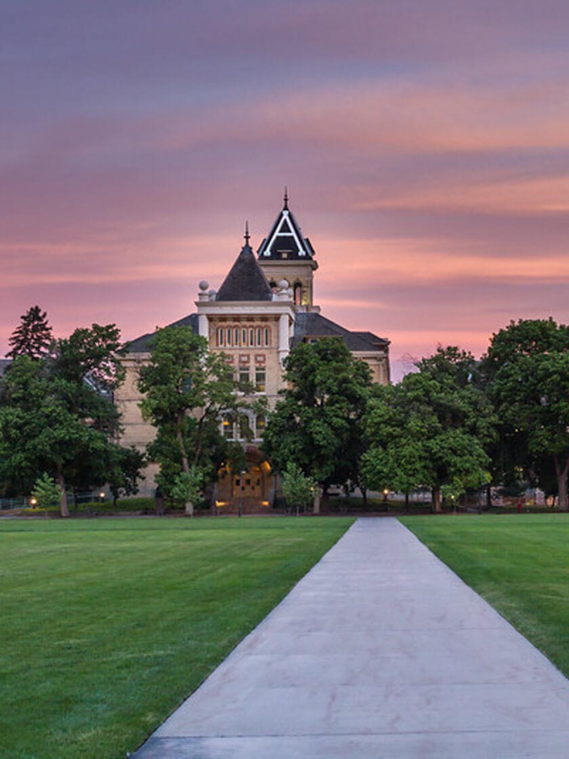 Old Main, Logan, UT