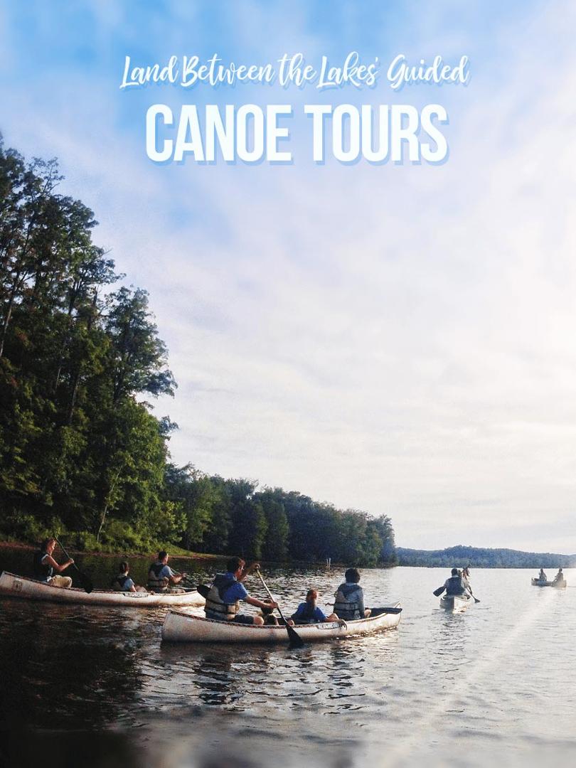 Canoeing on Lake Barkley, Cadiz, KY