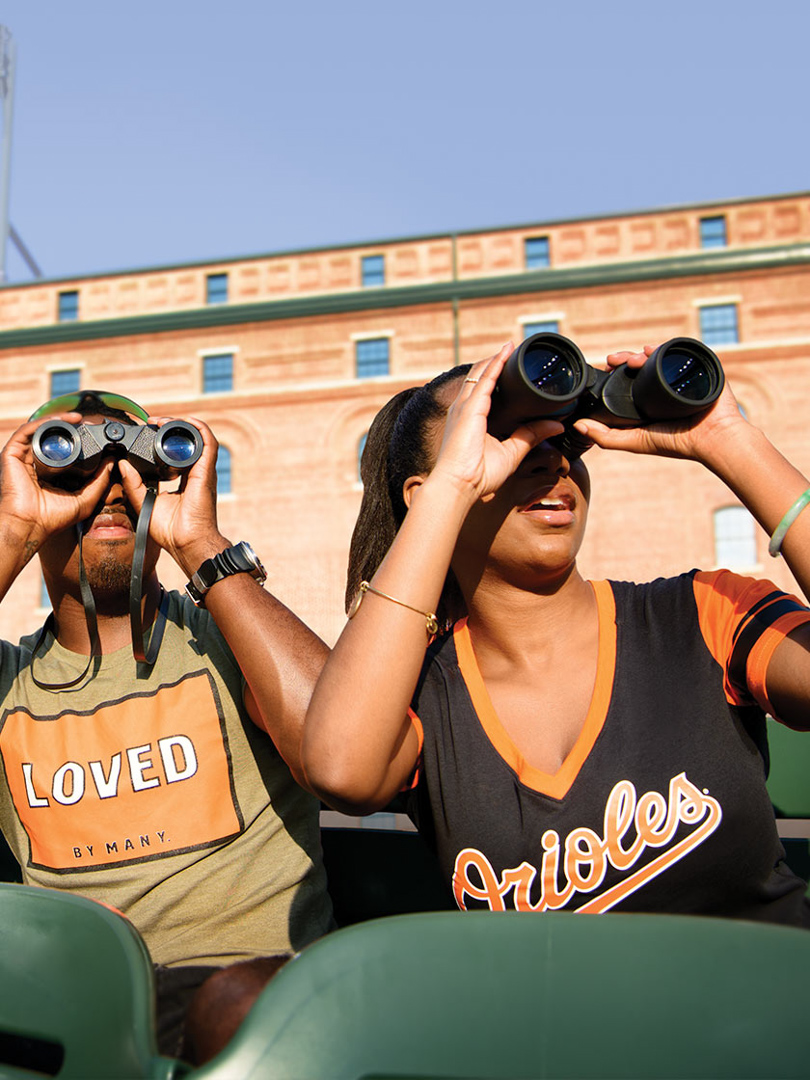 Baltimore Orioles game at Camden Yards, MD