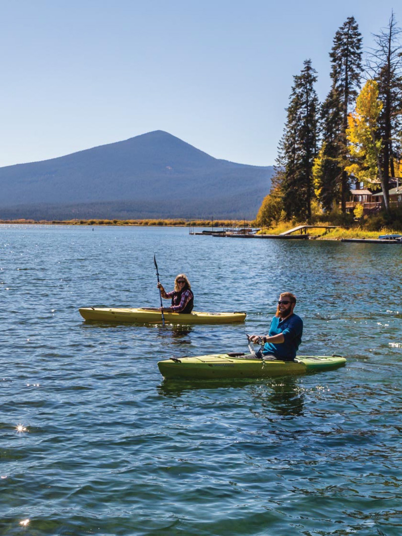 Kayaking - Upper Klamath Canoe Trail, Oregon