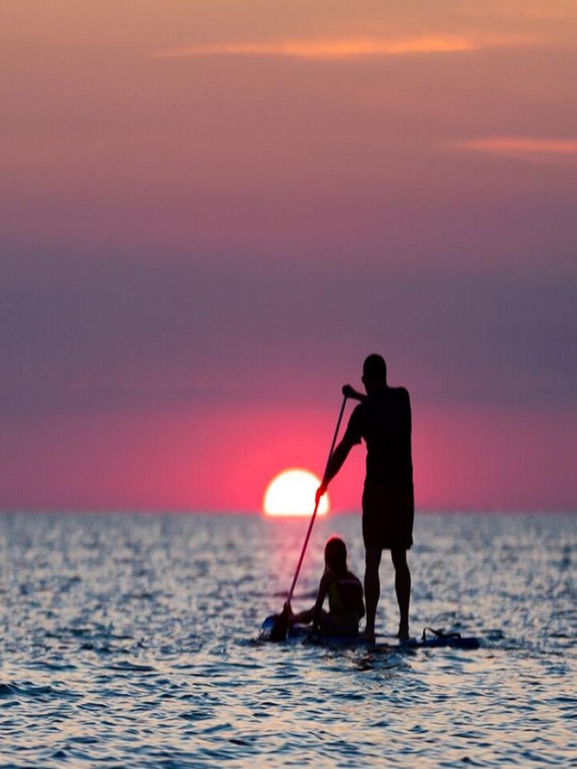 Paddle Boarding, The Great South Bay, NY