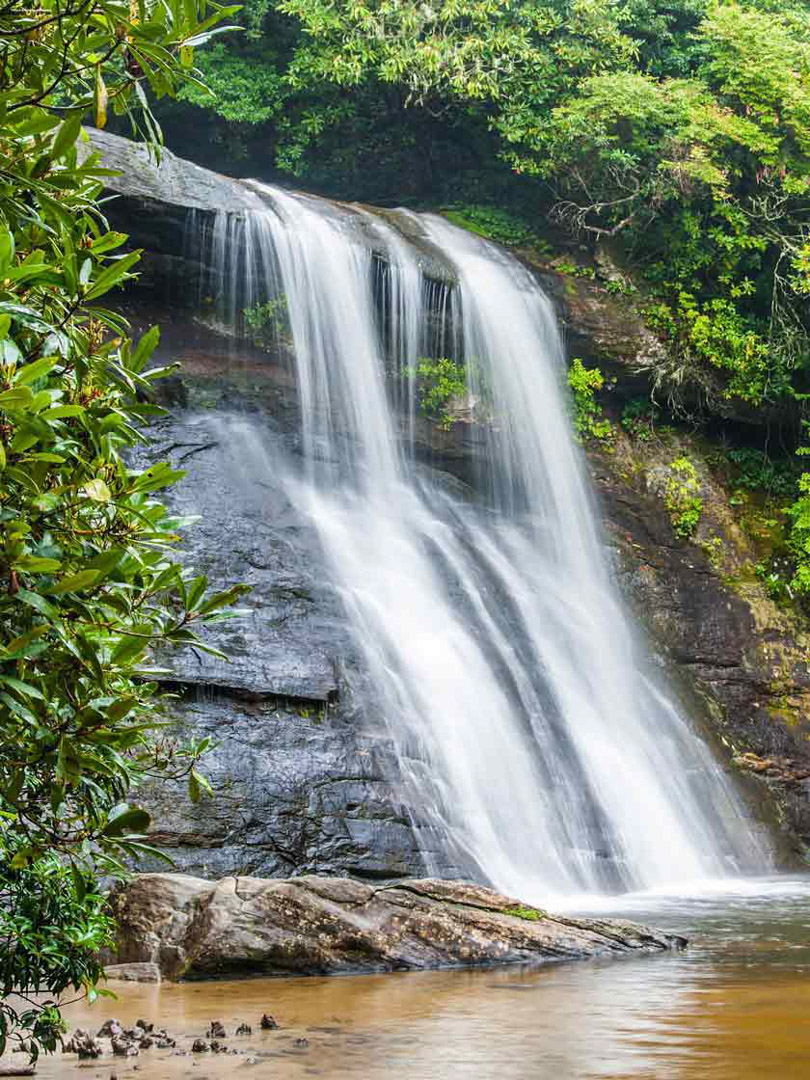 Silver Run Falls, Jackson County, NC