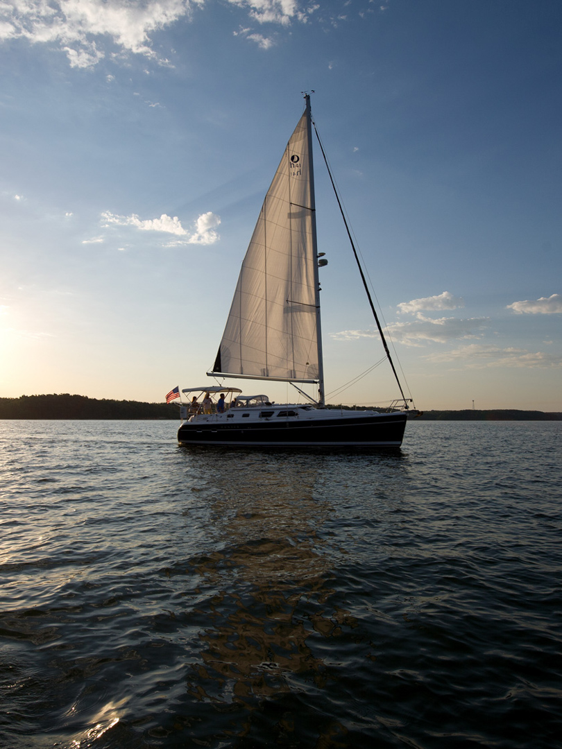 Sailing, Kentucky Lake, KY