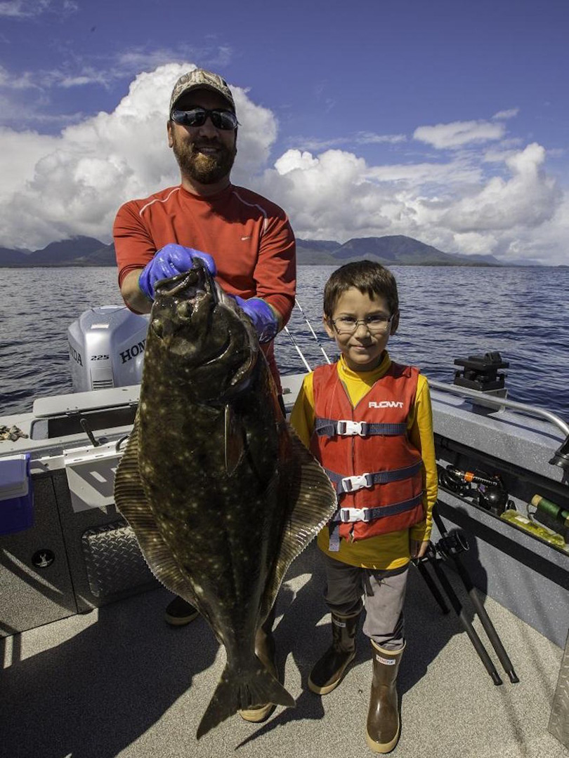 Charter Fishing for Halibut, Ketchikan, AK