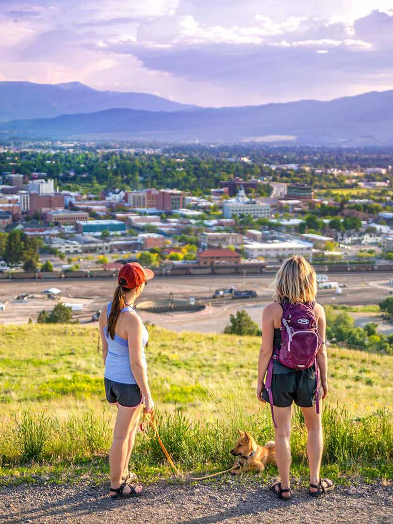 Scenic View Missoula, Montana