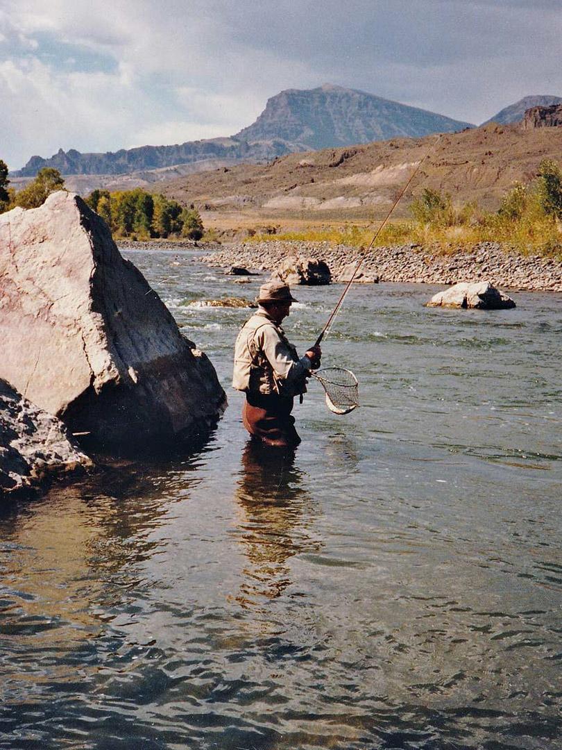 Fly Fishing, Cody/Yellowstone, WY