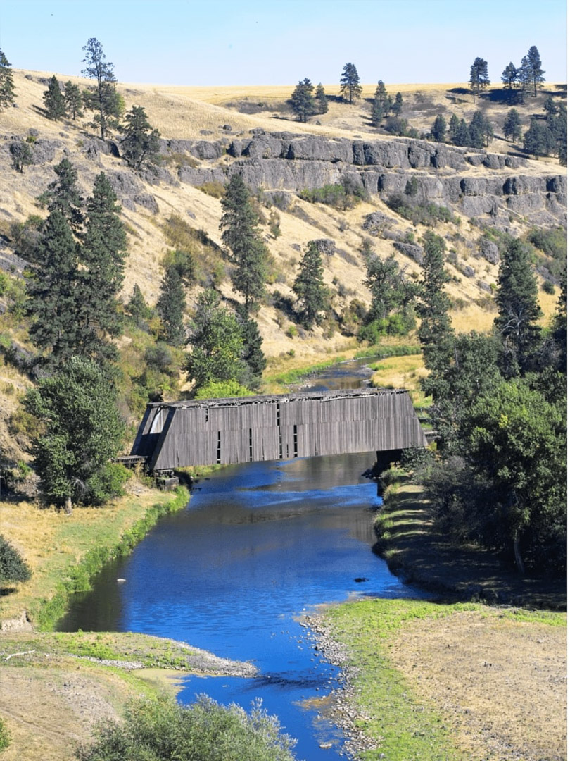 Covered Bridge on the Palouse, Pullman, WA